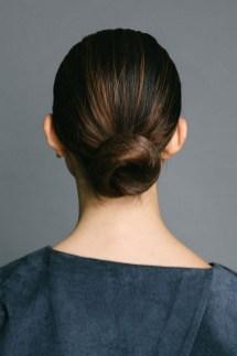 50 Stunning Classy Clean Bun Hairstyles Ideas 17