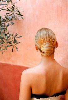 50 Stunning Classy Clean Bun Hairstyles Ideas 29