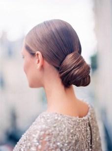 50 Stunning Classy Clean Bun Hairstyles Ideas 42
