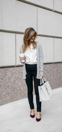60 Stylish Cardigan Outfit Inspiration for Work 09