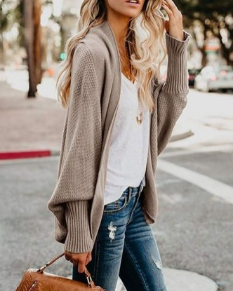 60 Stylish Cardigan Outfit Inspiration for Work 17