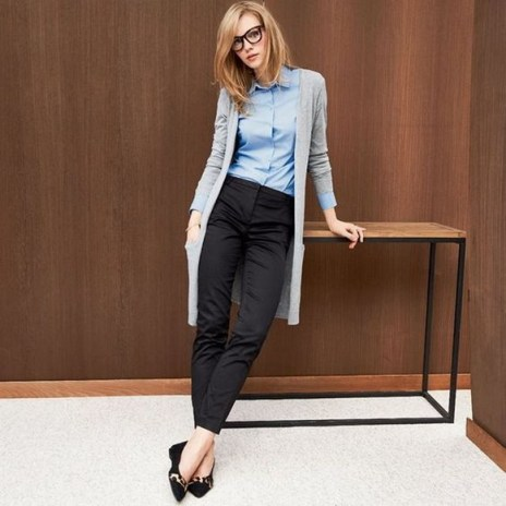 60 Stylish Cardigan Outfit Inspiration for Work 29
