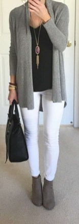 60 Stylish Cardigan Outfit Inspiration for Work 33
