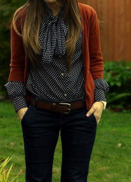 60 Stylish Cardigan Outfit Inspiration for Work 37