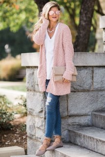 60 Stylish Cardigan Outfit Inspiration for Work 39