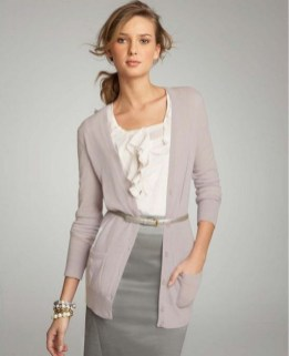 60 Stylish Cardigan Outfit Inspiration for Work 40