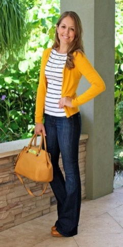 60 Stylish Cardigan Outfit Inspiration for Work 41