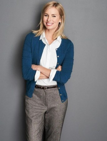 60 Stylish Cardigan Outfit Inspiration for Work 42