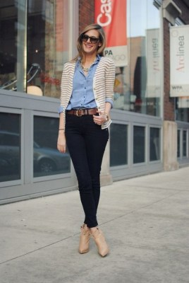 60 Stylish Cardigan Outfit Inspiration for Work 51