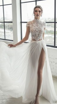 60 Victorian Styles Neckline for Wedding Dress Ideas 01