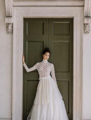 60 Victorian Styles Neckline for Wedding Dress Ideas 19