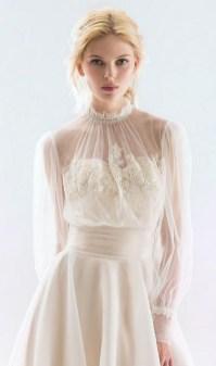 60 Victorian Styles Neckline for Wedding Dress Ideas 53