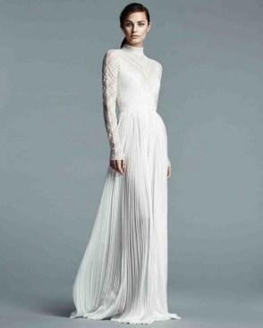 60 Victorian Styles Neckline for Wedding Dress Ideas 61