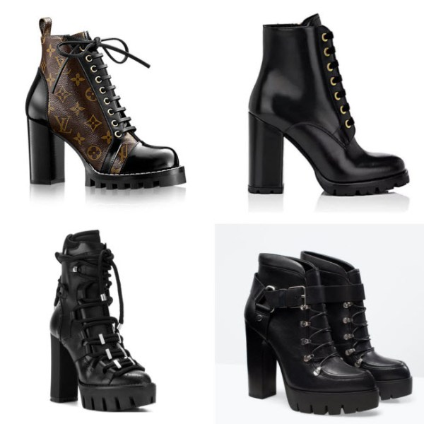 lug sole, platform boot, lace up boot, combat boot, track sole boot