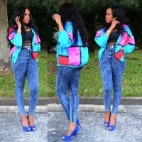 Throwback Trends : How to style Acid Wash Jeans