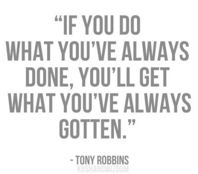 Quote of the Day: Tony Robbins on Making Changes