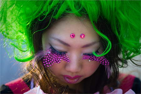 Harajuku Style Makeup