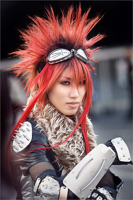 Japanese Cosplay Style Character
