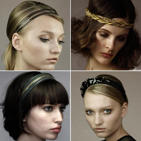 Jennifer Behr Fall 2009 headbands