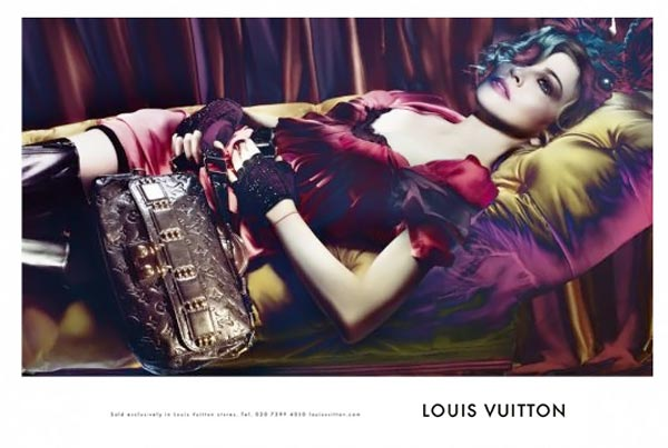 Leaked LV ad featuring the ideal Madonna