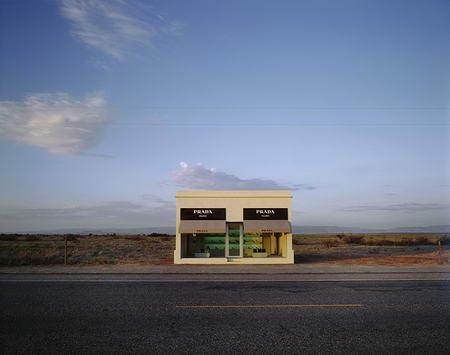 Prada Store in Marfa Texas