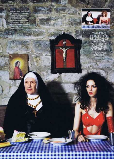The Mode of Almodovar Gaultier