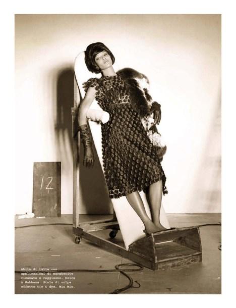 vintage retro inspired fashion editorials