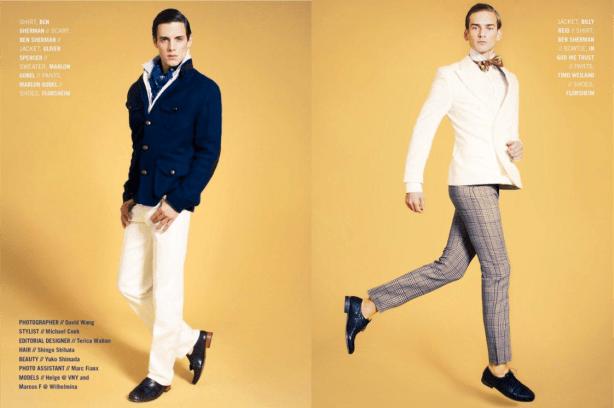 Preppy polished trends menswear 2013