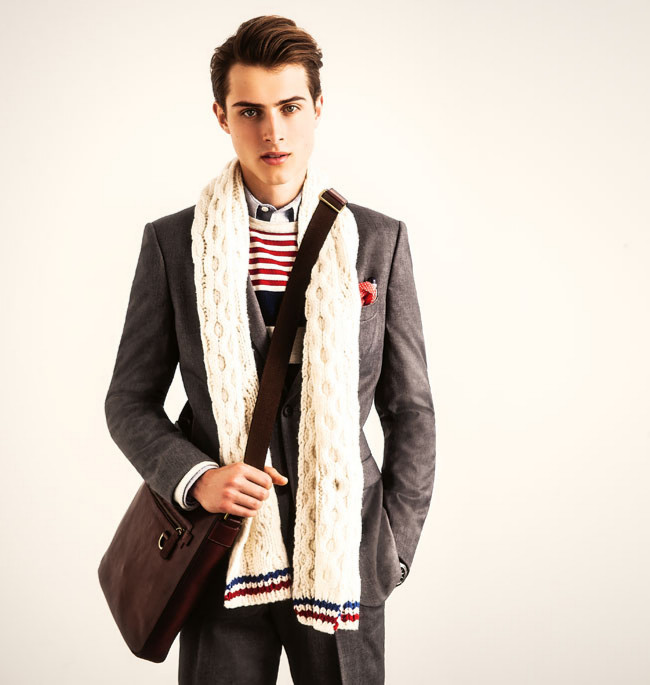 Mens accessories scarves
