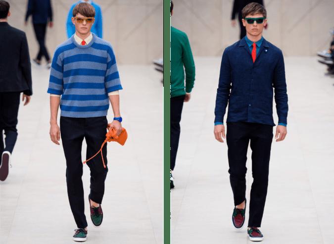 Burberry Prorsum's Spring 2014 Menswear