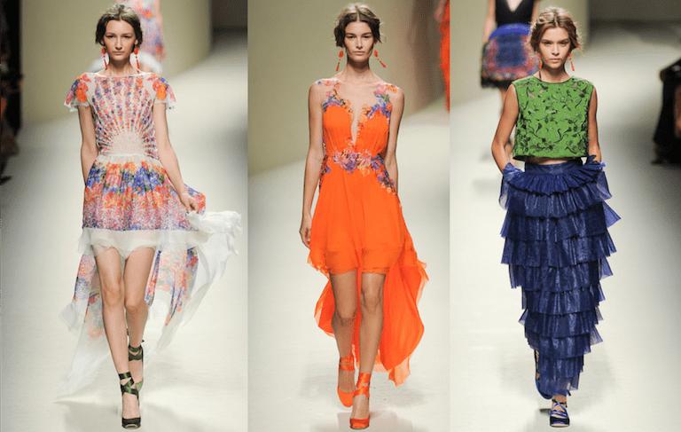 milan runway collections 2014