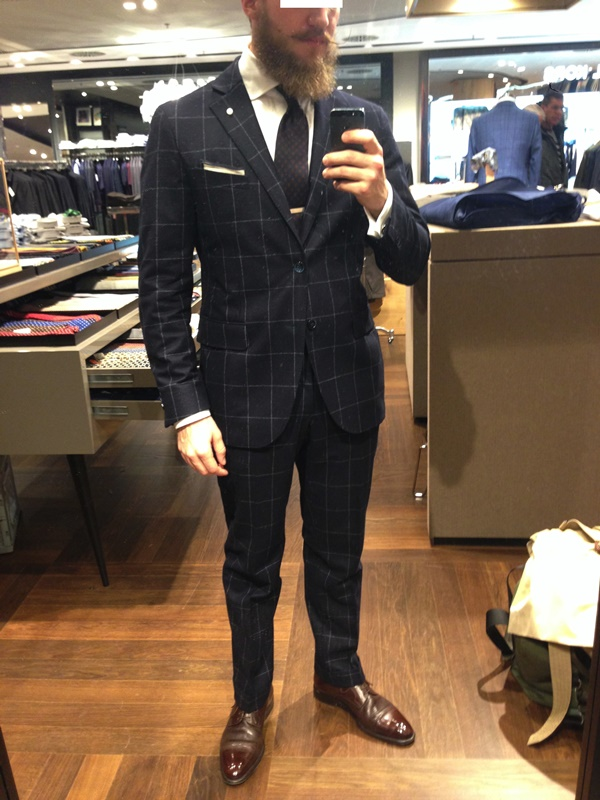 Stylish Black Suit Brown Shoes Outfits For Men