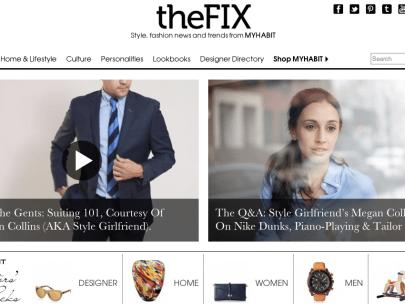 SG on Amazon's MyHabit blog, The Fix