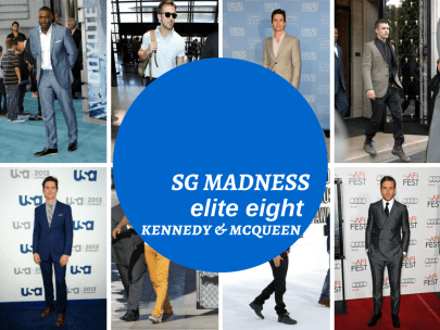 Men's Style Madness: Elite Eight - Kennedy & McQueen