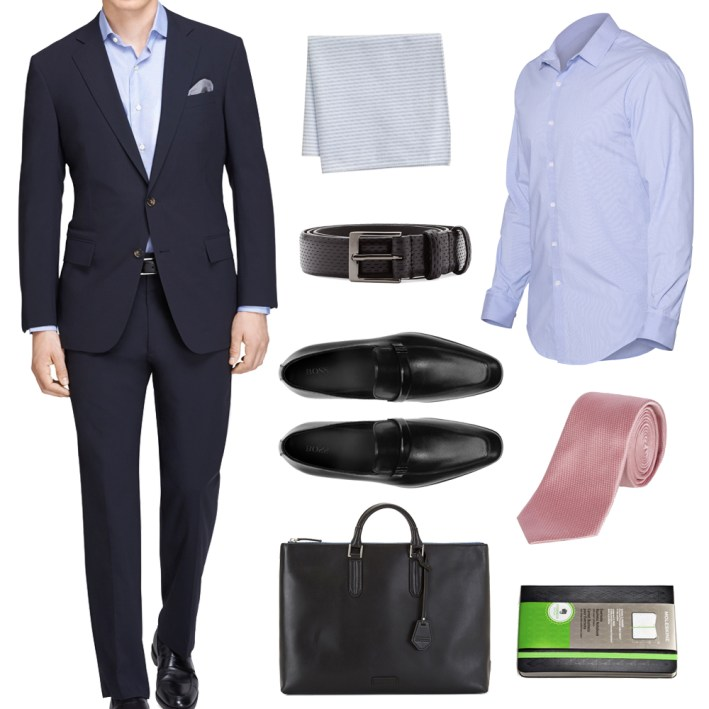 ways to wear a blue dress shirt, men's blue dress shirt, men's work wardrobe