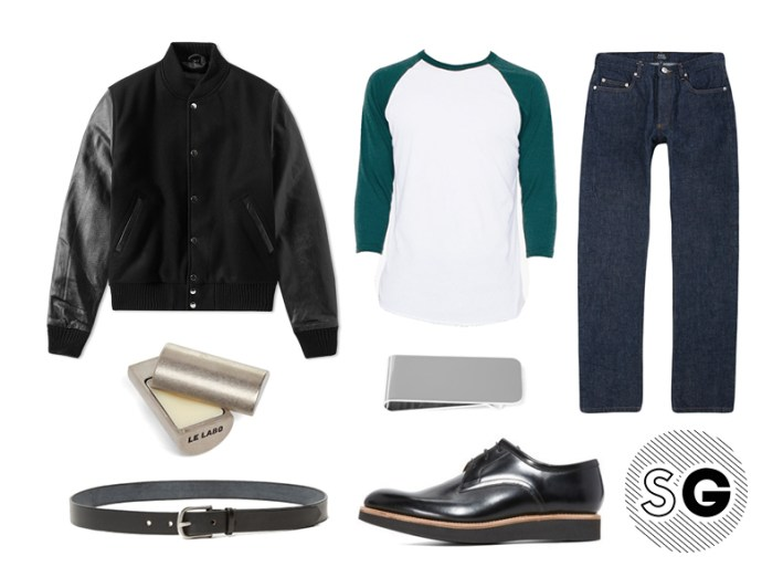 raglan, bomber, leather jacket, money clip, le labo