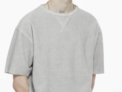 5 Days, 5 Ways: The Short Sleeve Sweatshirt