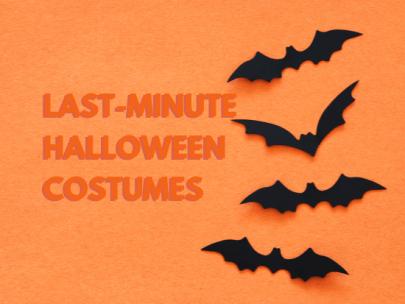 Last-Minute Halloween Costume Ideas Roundup
