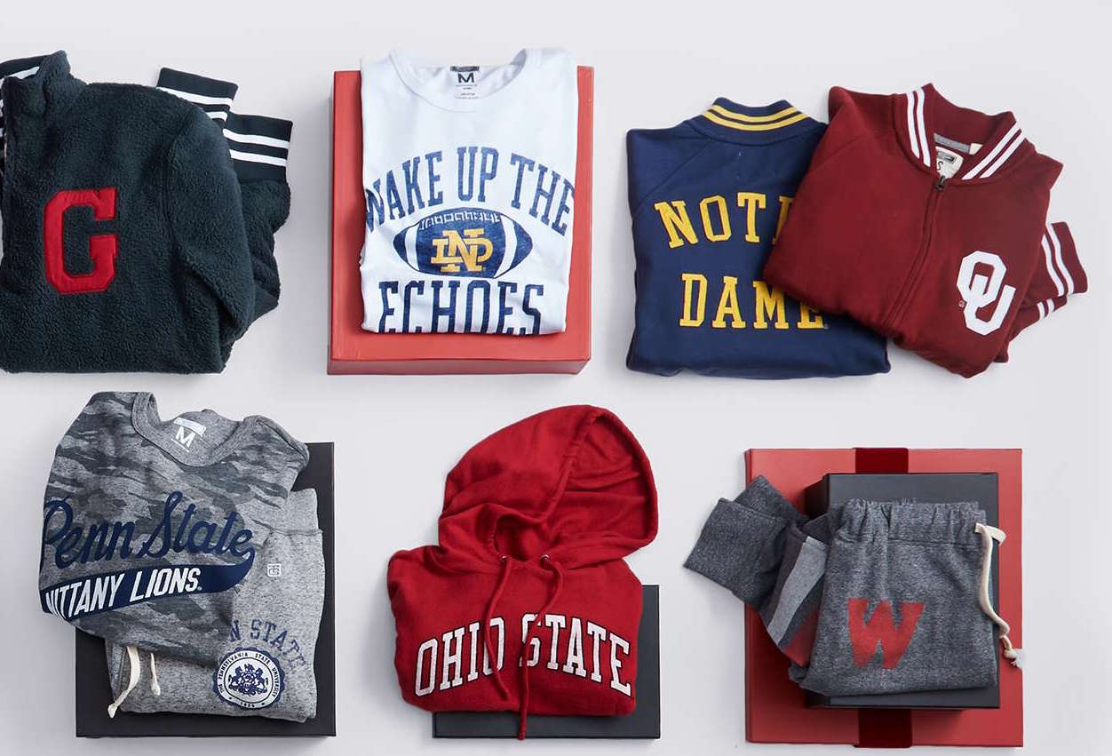 The Stylish College Sports Fan Apparel Brands Guys Need to