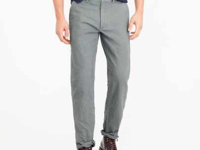 Men's Wardrobe Essential: 5-Pocket Twill Pants