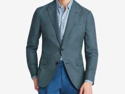 How to Wear an Unstructured Blazer