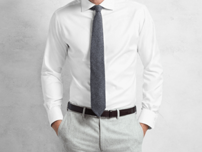 What Should a Slim Fit Dress Shirt Look Like?
