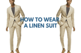 How to Wear a Linen Suit: Guys' Outfit Inspiration