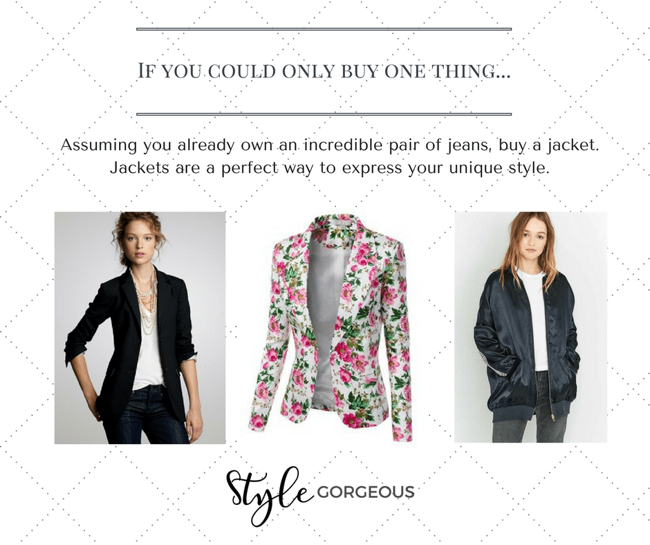 Style Tip- Jeans + Jacket