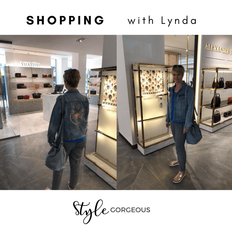 Lynda's shopping trip