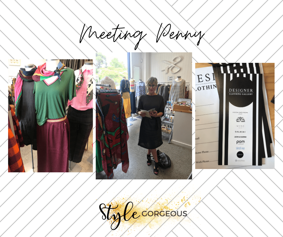 Meeting Penny from Designer Clothing Gallery