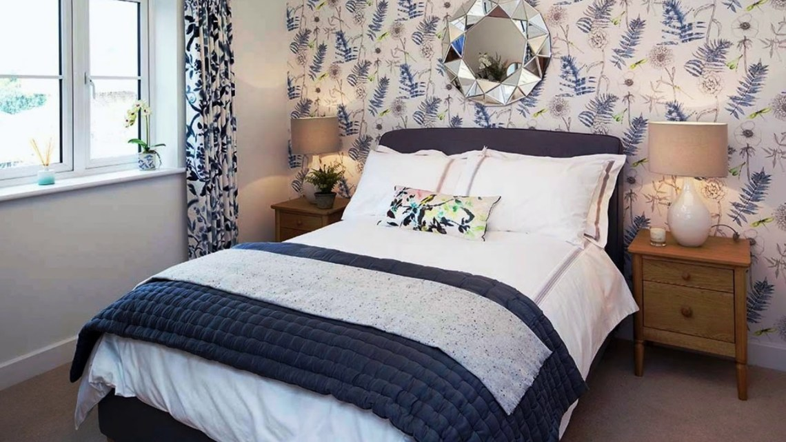 Refreshing Small Bedroom Ideas for Couple - styleheap.com