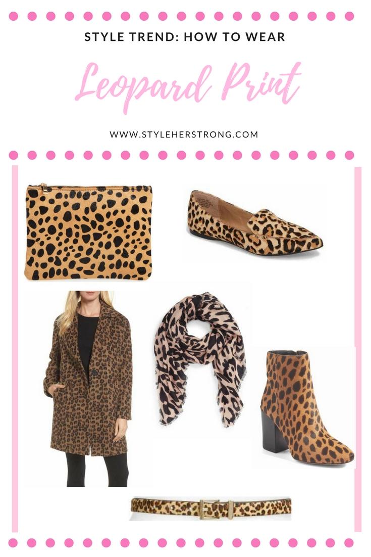How to Wear Leopard Print