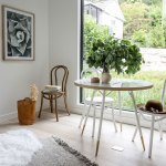 French Bistro Chair White Style In Form