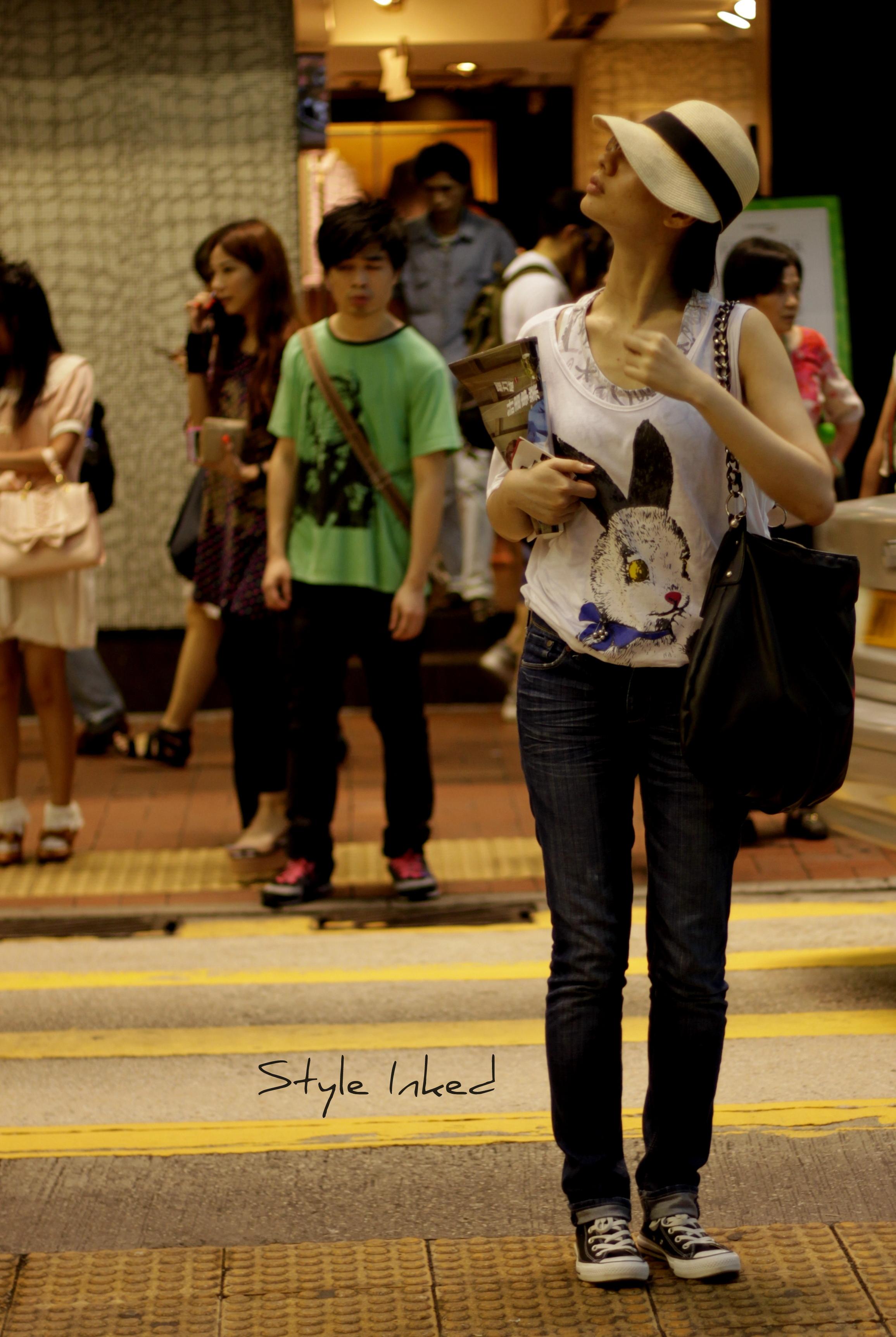 Hong Kong Street Fashion  Style Inked